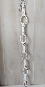 White House Black label belt white chain S/M